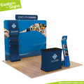 Trade show portable booth display