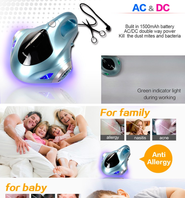 bed mattress vacuum cleaner by Vacuum and Blowing accessories to clean the bed and sofa