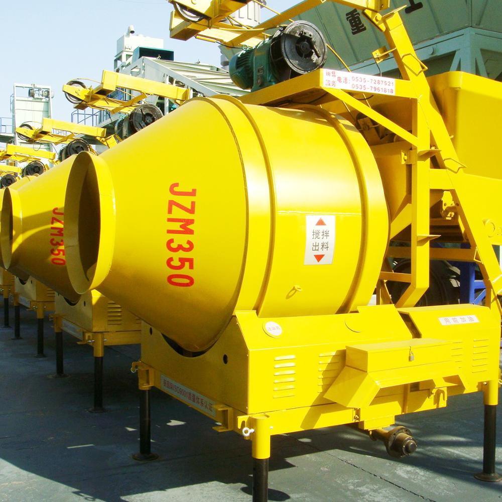 SHANDONG HONGDA Small Model Concrete Mixer JZM350