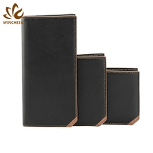 Professional human leather wallet, mens wallets brand names, wrist wallet made in China
