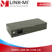 LINK-MI LM-GES24 24 Ports Gigabit Ethernet Switch 8K MAC Address (Work With LM-EX22)
