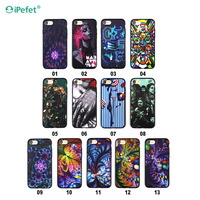 Alibaba express PC TPU Hybrid 3D uv mobile phone case for iPhone 7/7plus