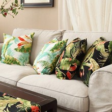 Wholesale digital printing silk cushion cover customized size