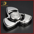 High Quality Stainless Steel 3D Wind Hand Spinner Fidget Toy for Adult Game