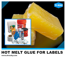 Good price PSA hot melt glue adhesive for permanent removable paper plastic label sticker