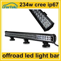 night super vision 36inch car led roof light bar 234W cree for offroad, trucks, ATV