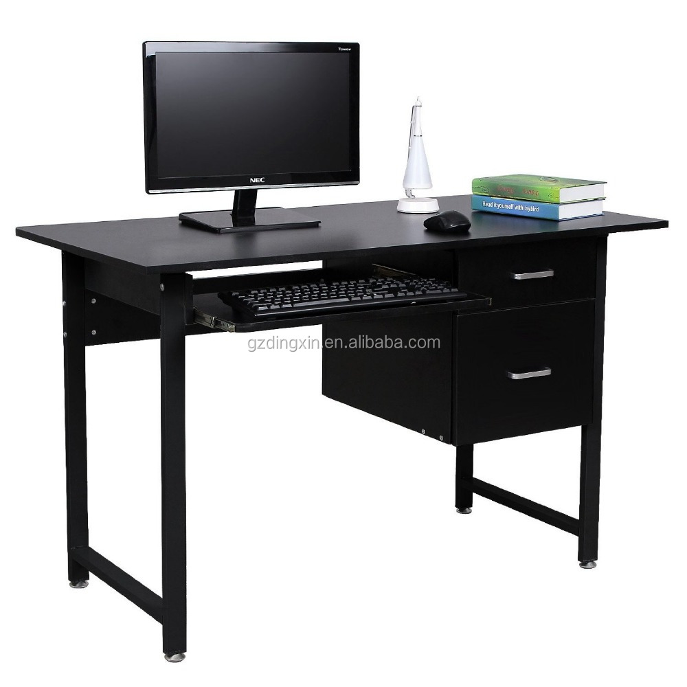 Modern Exclusive Used Computer Desk With Sliding Keyboard Laptop Table Dx 303