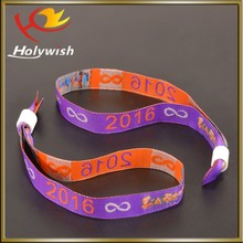 Wholesale fabric event custom new fashion wristbands party decoration