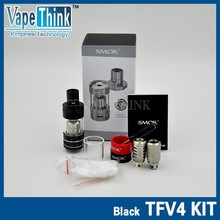 sub ohm smok tank smok TFV4 tank best selling vape/atomizer in stock from vapethink