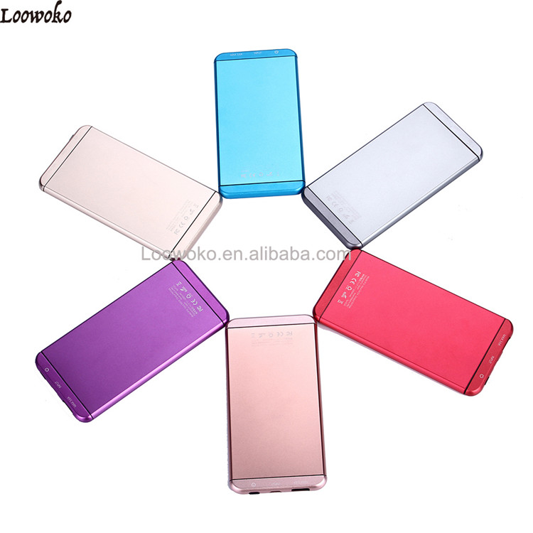 Hotsale Slim Portable Mobile Power Bank 5000mah For Smartphones
