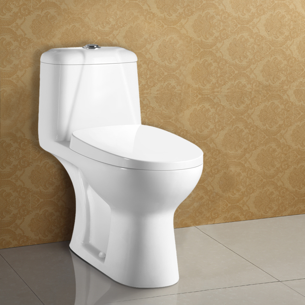 Trade Assurance Washroom Closestool Supplier Bathroom Siphonic Toilet WC