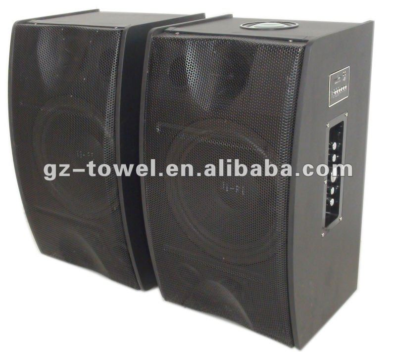 10 inch active usb ,sd,fm ,laser light speakers