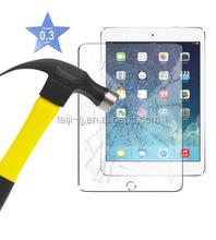0.4MM Tempered Glass Screen Protector for iPad Air, Air2 iPad5 6 - 9H Hardness Scratchproof/ Shatterproof/ Easy Installation