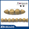 New Round Gold Natural precious Stone Beads 4-18mm