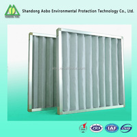 Good Quality aluminum Frame Hepa Pleated Air Filter Box