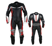 Latest One Piece genuine leather motorbike racing suit, customized size men Leather motorbike suit