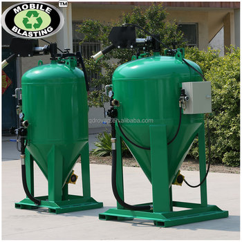wet dustless blasting machine, portable shot blaster