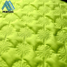 PTPF1300 100% polyester quilted fabric pre quilted fabric