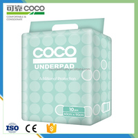 Adult Care and Baby Care Disposable Underpads with Soft Cotton Top Sheet
