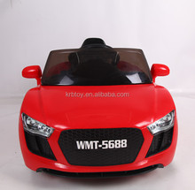 wholesale ride on battery operated kids baby car red, white and blue