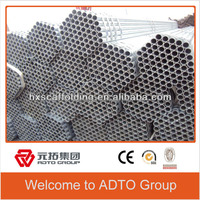 Structure Galvanized Carbon Q235/Q345 BS Standard Scaffolding Pipes