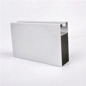 customized 6063 T5 lowest PRICE aluminium PROFILE for windows and doors