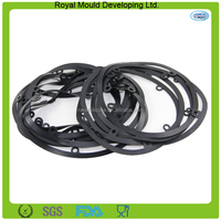 2014 Round shaped silicone rubber flat gaskets