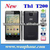 Original 6.0 inch Android 4.2 THL T200 MTK6592 Octa Core Phone 3G Cell Phone,Ram 2GB 32GB 13.0MP OGS NFC OTG 1.7GHZ 1920*1080