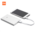 Original Xiaomi Power Bank 5000 mah Ultra Slim Thin 9.9mm universal portable aluminum