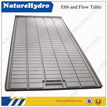flood tray for hydroponic growing