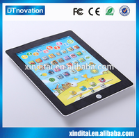 Fashion health Baby talking learning educational y-pad learning toy