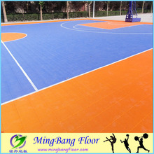 100% new raw outdoor pp plastic interlocking sports flooring/sheet/tiles basketball court flooring