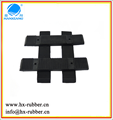 customized small rubber strip/non-slip shockproof rubber strip