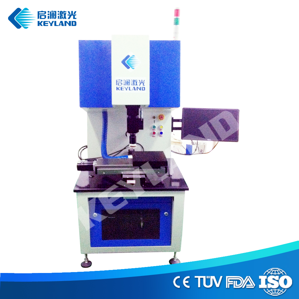 Keyland Solar Machine Cutting Scribing Broken Silicon Wafer Solar Cells with 10W / 20W Fiber Laser