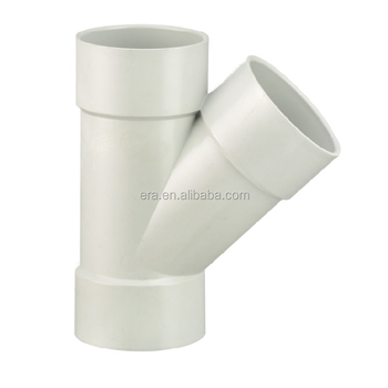 ERA AS/NZS1260 45 Degree Junction F/F Y PVC Drainage Tee Fittings