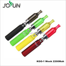 2014 hot selling Electronic Cigarette Kgo 1week battery variable voltage vaporizer pens