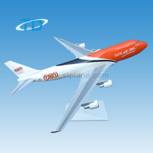 TNT plastic b747 1 200 scale model aircraft