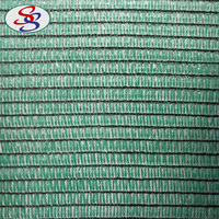 HDPE green fence sun shade netting