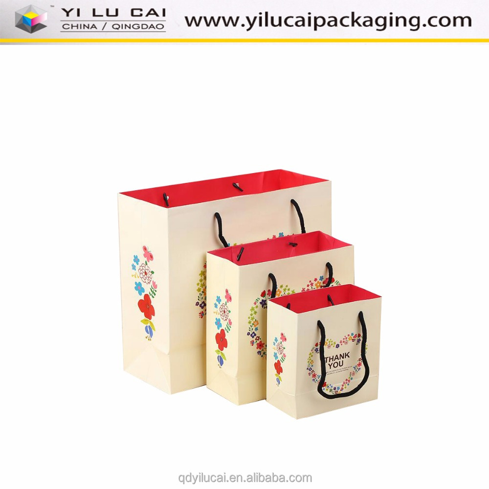 Yilucai Online Shopping Birthday Party Paper Gift Bag for Kids