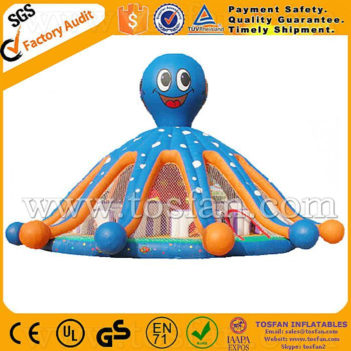 inflatable bouncer octopus A1038