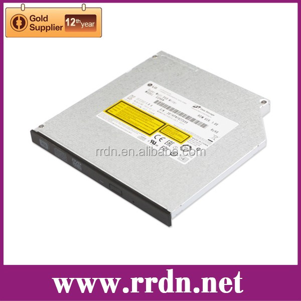 Laptop Slim 9.5mm SATA Tray load DVD Writer HL GU90N
