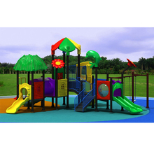 Commercial safe plastic children outdoor playground equipment