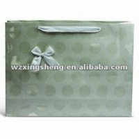 2012-2013 hot sale bamboo han fan for promotional high quality promotion paper gift bag