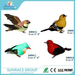 Hot selling garden ornament birds statuette ceramic canary birds with great price