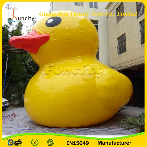 Big Inflatable Yellow Duck / Giant Inflatable Promotion Duck / Big Water Floating Duck