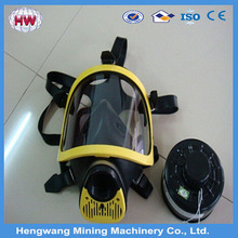 Safety full face gas mask two cartridge gas mask/military gas mask