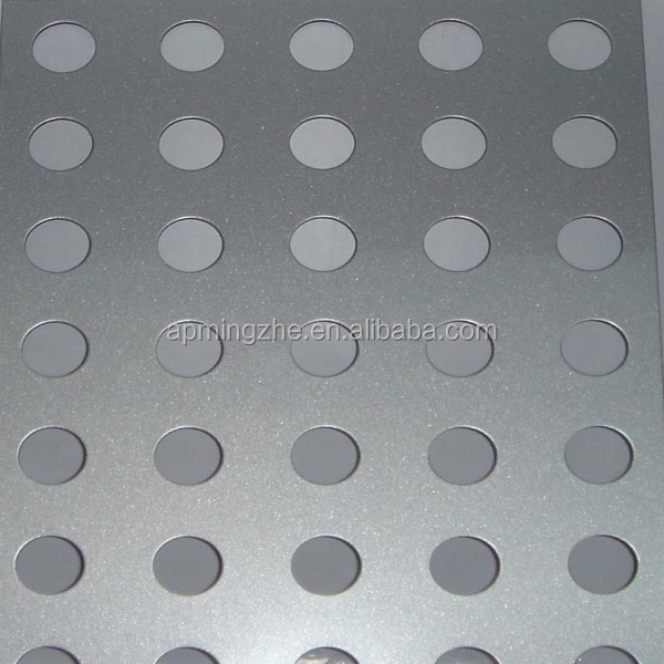 Beautiful and durable aluminium punching decorative metal perforated sheet