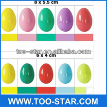 Hot Sell Plastic Decoration Easter Eggs