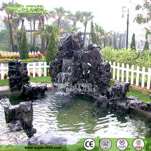 Manmade Fiberglass Garden Ornamants Rockery Artificial Landscaping Stone Rockery