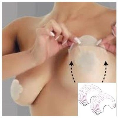 Wholesale 10 x boob lift invisible breast enhancer tit tape backless strapless bra